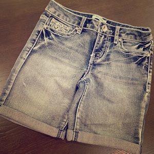 Girls jeans Bermuda.